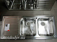 Мойка кухонная из нержавеющей стали Dominox Radar L B21  полированная