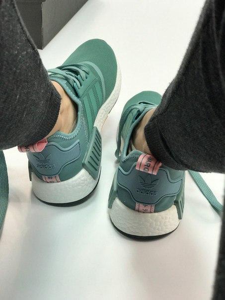 Женские Кроссовки Adidas NMD Mint