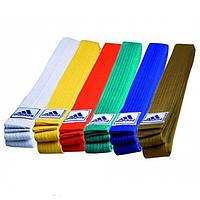 Пояс для кимоно Adidas серии CLUB (Белый)
