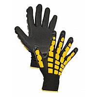 Вязаные бесшовные перчатки