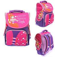 Ранец Рюкзак детский школьный ортопедический Smile Винкс Fashion Style 987911