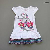 """Летнее платье """"Балетки"""" для девочки. 4 года"""