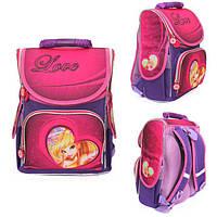 Ранец Рюкзак детский школьный ортопедический Smile Винкс Fashion Love 987913