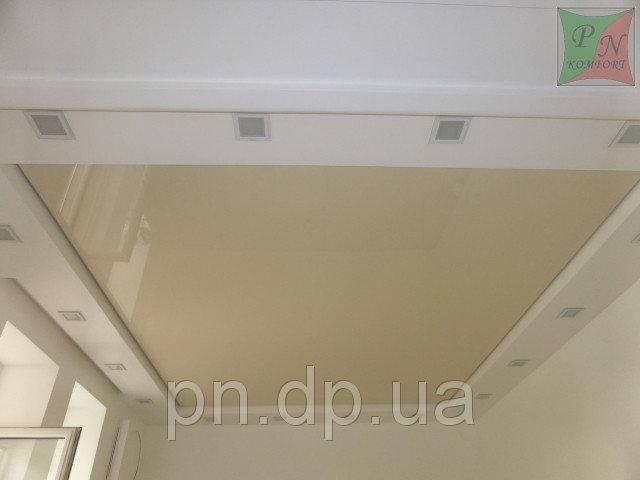 Парящие натяжные потолки 6
