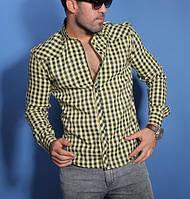 Стильная мужская рубашка в клетку