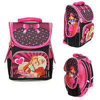 Ранец Рюкзак детский школьный ортопедический Smile Винкс Fairy Flora 987924