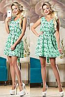 Летнее молодежное платье