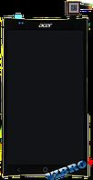 Дисплей (экран) Acer E700 Liquid with touch screen (с тачскрином в сборе) ORIG, black (черный)
