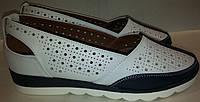 Туфли женские летние WSRM 230-2 белые TONI