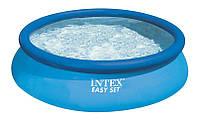 Бассейн Intex Easy Set 28120, 3853 л, круглый, ПВХ, адаптер для слива воды, трехслойные стенки