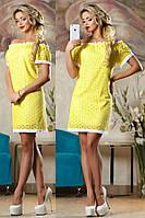 Нежное платье из батиста
