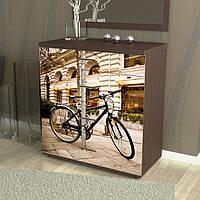 Наклейка на комод Велосипед