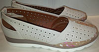 Туфли женские летние WSRM 230-6 белые TONI