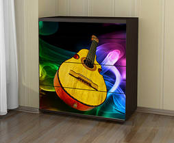 Наклейка на комод Гитара
