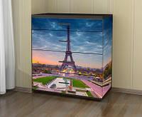 Наклейка на комод Париж