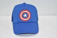 Кепка  синяя Капитан Америка, фото 1