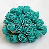 Розы из латекса, 1,5-2 см, мятный