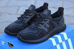 Мужские кроссовки летние Adidas Ultra boost,черные 41р, фото 2