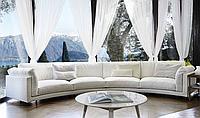 Итальянский модульный радиусный диван Host фабрики Swan Italia