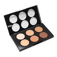 Консилер/корректор в наборе 6 цветов Corrector&Concealer Face Touch-Up Palette Oil Free Makeup #2 Meis