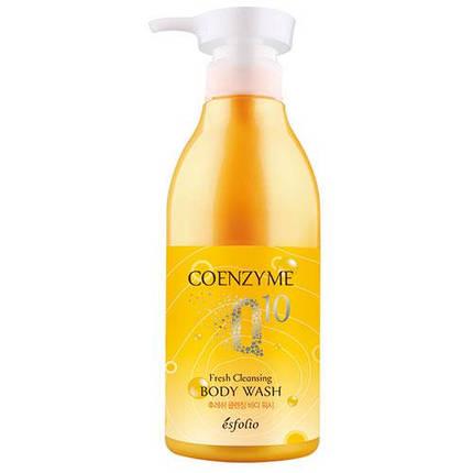 Гель для душа ESFOLIO COENZYME Q10 FRESH CLEANSING BODY WASH, 500 мл, фото 2