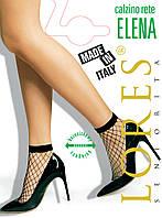 Носки крупная сетка Elena тм Lores