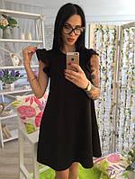 Классическое женское миди платье. Материал кукуруза. Размеры 42-46. Розница, опт в Украине., фото 1