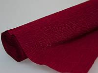 Бумага Жатая Темно Красная  2М\0.5М