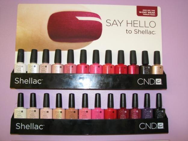 Революционная разработка от профессиональной марки CND (США) — гель-лак Shellac!