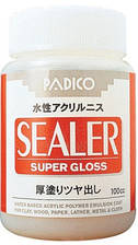 Лак универсальный, глянцевый, 100 мл, Sealer, Padico, 50053216