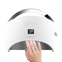 LED лампа для наращивания ногтей 48 Вт, Sun 6, Интеллектуальная защита от перегорания диодов