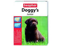 Doggy's Junior вітамінізовані ласощі для здорового розвитку цуценят Beaphar