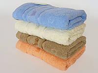 Мягкое махровое лицевое полотенце 100х50см (рыбки)