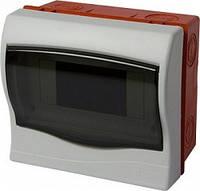 Корпус пластиковый 6-модульный e.plbox.stand.w.06, встраиваемый