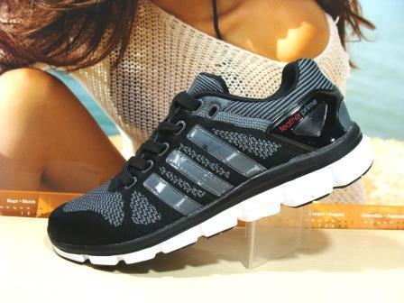 Кроссовки Adidas ClimaСool (реплика) чёрные 44 р.