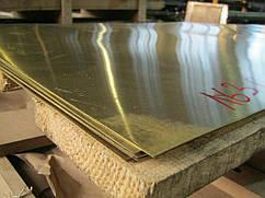 Лист латунный Л63 0,4х600х1500мм