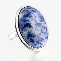 Содалит, серебро 925, кольцо, 432КЛ