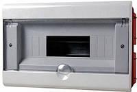 Корпус пластиковый 12-модульный e.plbox.stand.w.12, встраиваемый