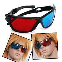 Анаглифические красно-голубые 3D очки  – теперь любимые фильмы станут интереснее!