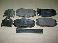 Колодка тормозная HYUNDAI SONATA, HONDA CIVIC передний (производитель TRW) GDB3409