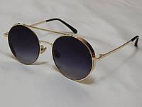 Солнцезащитные очки круглые с боковой защитой, Dior 751161