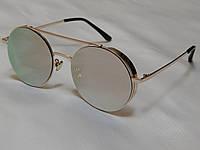 Солнцезащитные очки круглые с боковой защитой, Dior 751163