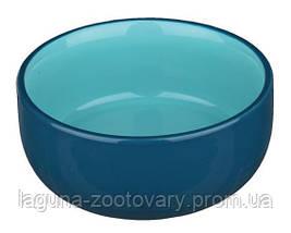 Глубокая керамическая миска для кошек  0.3л/11см, разные  цвета, фото 2