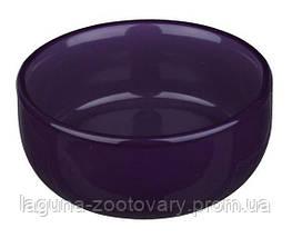 Глубокая керамическая миска для кошек  0.3л/11см, разные  цвета, фото 3