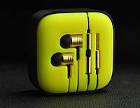 Гарнитура Xiaomi Piston 2 жёлтые