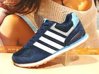 Кроссовки Adidas Neo (адидас) синие 36 р.