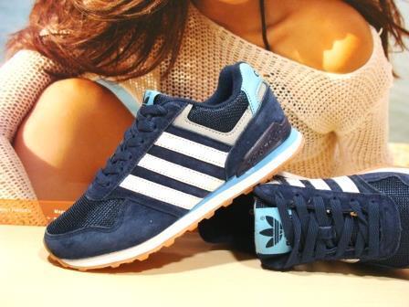 Кроссовки женские Adidas Neo (реплика) синие 36 р.