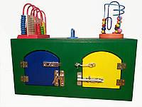 """Бизибокс """"Шкатулка с лабиринтом"""" бизиборд, busyboard, бізіборд, busybox, куб"""
