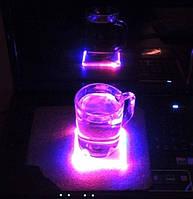 Flash Pad - светодиодная подставка под чашку (бокал)
