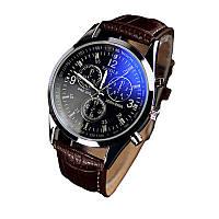 Наручные часы Yazole коричневые